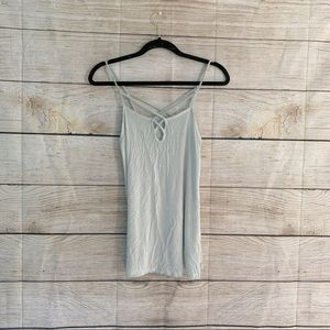 Light Mint Green American Eagle Tank Top